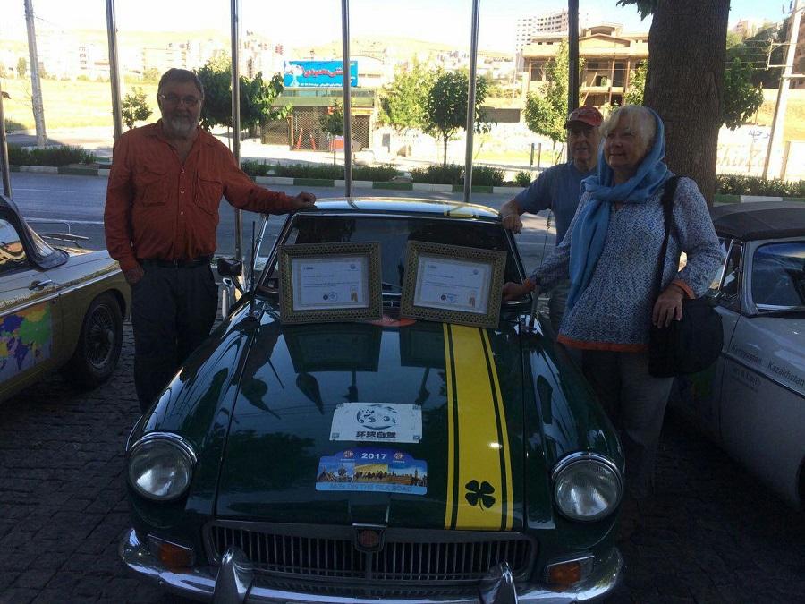اهدای هدایای مدیا موتورز به هواداران استرالیایی ام جی